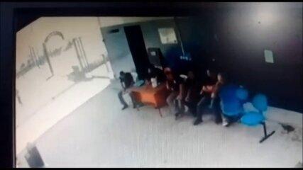 Imagens mostram tentativa de fuga que deixou um preso morto no Complexo do Curado