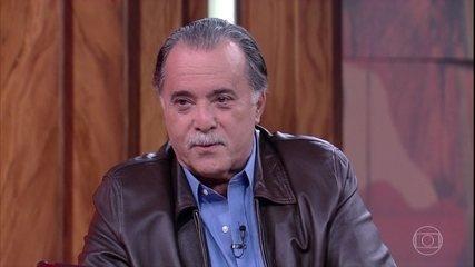 """Tony Ramos fala sobre seu trabalho em """"Grande Sertão: Veredas"""" e sobre o título de galã"""