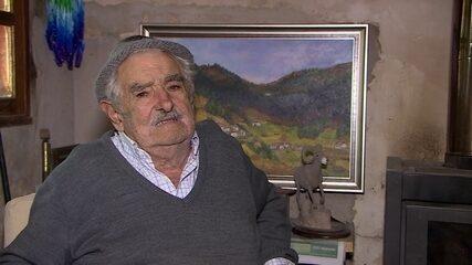 José Mujica fala sobre a legalização da maconha