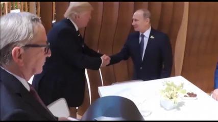 Trump e Putin se encontram pela primeira vez no G20