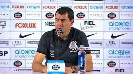 Veja a entrevista de Fábio Carille, do Corinthians, após vitória sobre a Ponte
