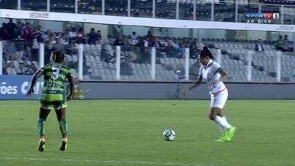 Melhores momentos de Santos 3 x 2 Iranduba na semifinal do Campeonato Brasileiro Feminino