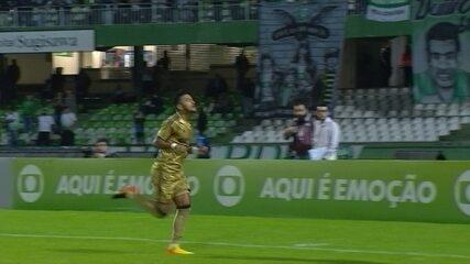 Os gols de Coritiba 0x3 Sport pela 12ª rodada