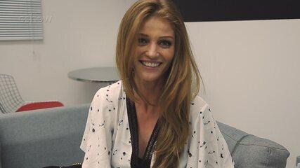 Gshow entrevista a modelo e atriz Cíntia Dicker