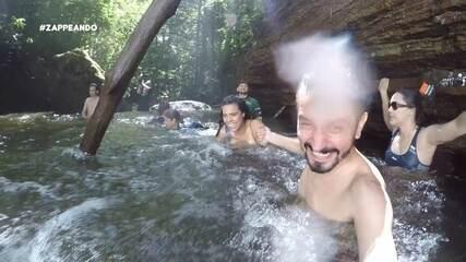 Parte 2: Moacyr e Isa se aventuram em busca de cachoeiras
