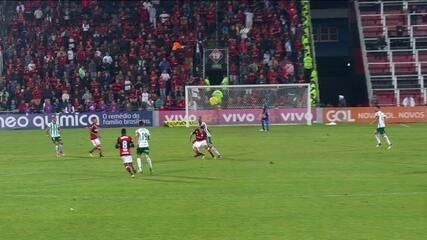 Arnaldo Cezar Coelho comenta lances de Flamengo x Palmeiras
