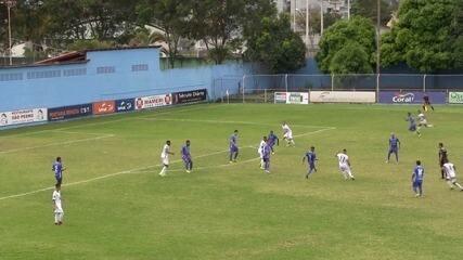 O gol de Vitória-ES 0 x 1 Rio Branco-ES, pela Taça Estádio Salvador Costa 50 anos