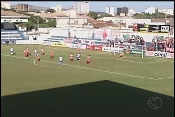 URT e Villa Nova-MG empatam sem gols no jogo de ida das oitavas da Série D