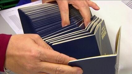 Casa da Moeda retoma confecção de passaportes após um mês parada