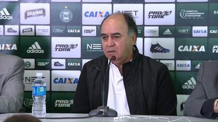 Marcelo Oliveira desconversa sobre valor de contrato e diz que satisfação é maior