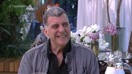 Ana Maria recebeu Jorge Fernando na Casa de Cristal