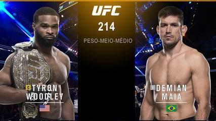 UFC 214 - Tyron Woodley x Demian Maia