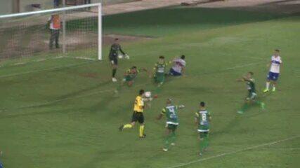 Veja os gols da partida entre Atlético-AC e Gurupi-TO, neste domingo (30), no Florestão
