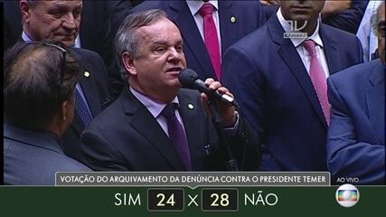 Veja como votaram dos deputados do estado de Santa Catarina