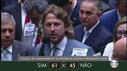 Veja como votaram dos deputados do estado do Paraná