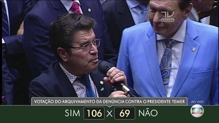 Veja como votaram dos deputados do estado do Mato Grosso
