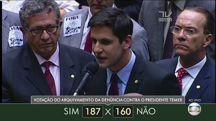 Veja como votaram dos deputados do estado do Rio Grande do Norte