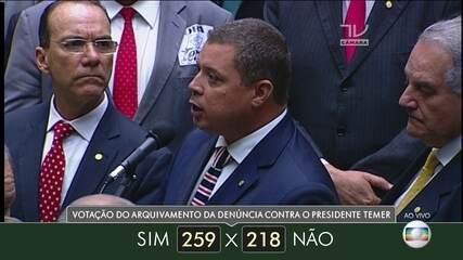 Veja como votaram dos deputados do estado de Sergipe