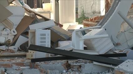 Explosão em igreja deixa feridos em Balneário Camboriú
