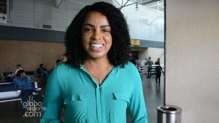 Campeã olímpica, Fofão, desembarca em Rondônia para Interdistrital