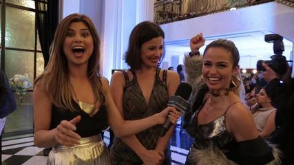 Julianne Trevisol mostra os bastidores da Festa Hinode no Carioca Palace