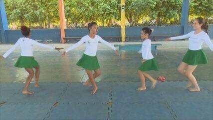 Projeto social inicia aulas de ginástica rítmica em Ji-Paraná