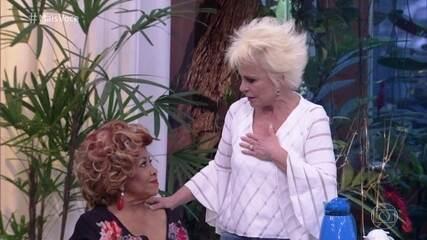 Ana Maria se emociona com apresentação de Alcione