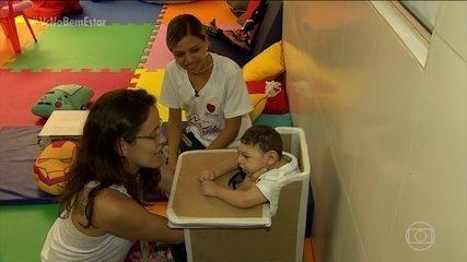 Pesquisadores criam adequador postural para crianças com síndrome da zika