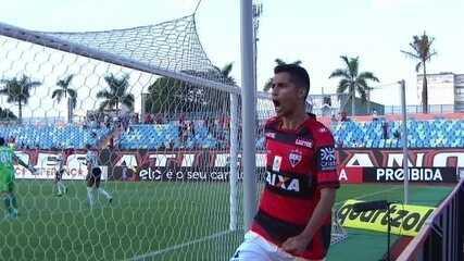 Os gols de Atlético-GO 1x0 Coritiba pela 20ª rodada