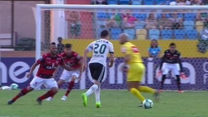 Melhores momentos de Atlético-GO 1 x 0 Coritiba pela 20ª rodada do Campeonato Brasileiro