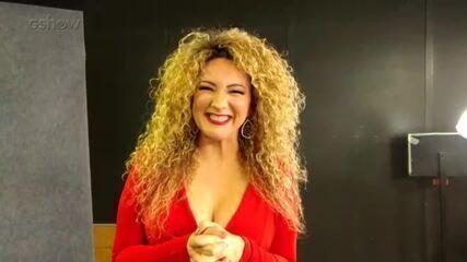 Erika Ender fala da emoção de cantar ao lado de Ivete Sangalo no palco do 'Altas Horas'