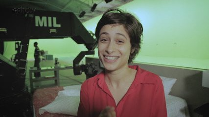 Luisa Arraes mostra bastidor de cena especial de 'A Fórmula'