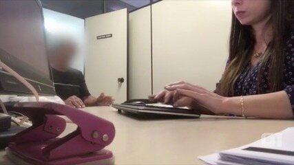 Vídeo mostra depoimento de funcionário que foi coagido a mentir sobre transportadora