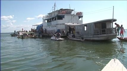 Corpos de 2 crianças que naufragaram no navio no PA são resgatados