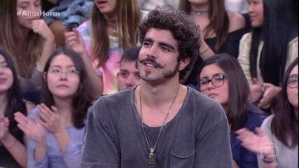 Caio Castro diz que se encontrou no ofício de ator