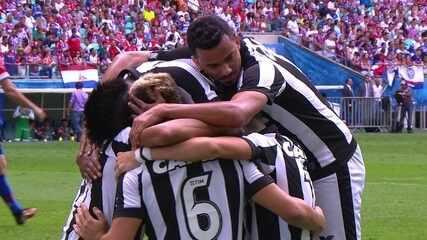 Os gols de Bahia 1 x 2 Botafogo pela 22ª rodada do Brasileirão