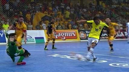 Os gols de Sorocaba 3 x 4 Barueri pela Liga Paulista de Futsal