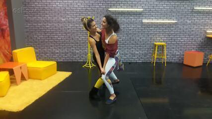 Professoras do 'Dança' ensinam o que fazer e o que não fazer no forró