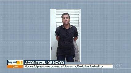 Homem que ejaculou no pescoço de passageira volta a ser preso por estupro