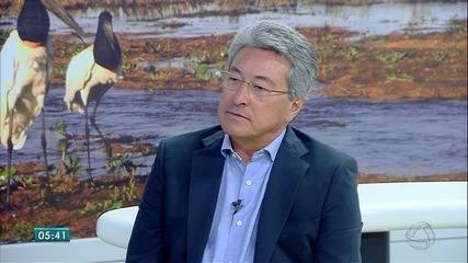 Roberto Hashioka fala sobre trabalho no Detran de Mato Grosso do Sul