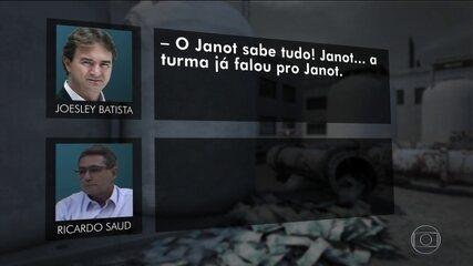Joesley e Saud especulam se Janot sabia das tratativas que diziam ter com Marcelo Miller