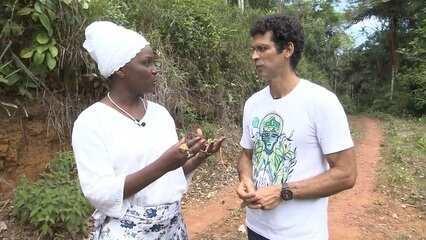 Bióloga Sueli Conceição explica conceitos ligados à etnobotânica