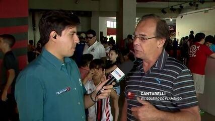Ex-goleiro Cantarelli defende escalação de Muralha