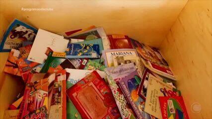 Campanha Ler é um Programão arrecada livros e incentiva a leitura