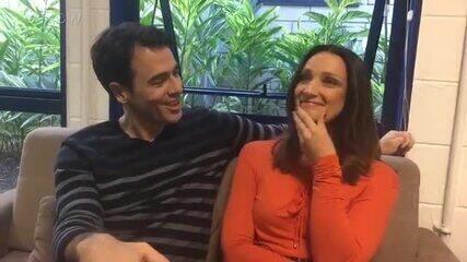 Claudio Lins e Sabrina Parlatore comentam as expectativas para a final do 'PopStar'