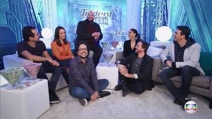Tiago Abravanel conversa com finalistas do Popstar