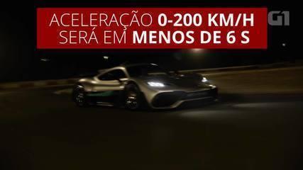 Mercedes-AMG Project One deve fazer de 0 a 200 km/h em menos de 6 segundos