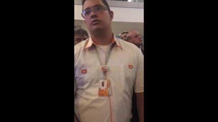 Gol cancela voo em Brasília e passageiros passam noite no aeroporto por 'falta de hotel'