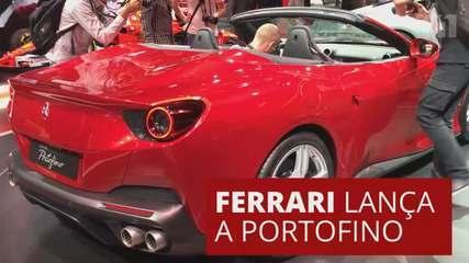 G1 no Salão de Frankfurt: Conheça a Portofino, novo modelo de entrada da Ferrari