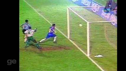 Reveja gols das partidas entre Grêmio e Palmeiras pela Libertadores de 1995
